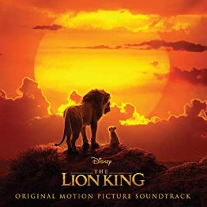 Image of the album cover for The Lion King Motion Picture Soundtrack