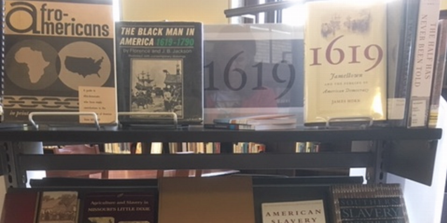 1619 Book Display