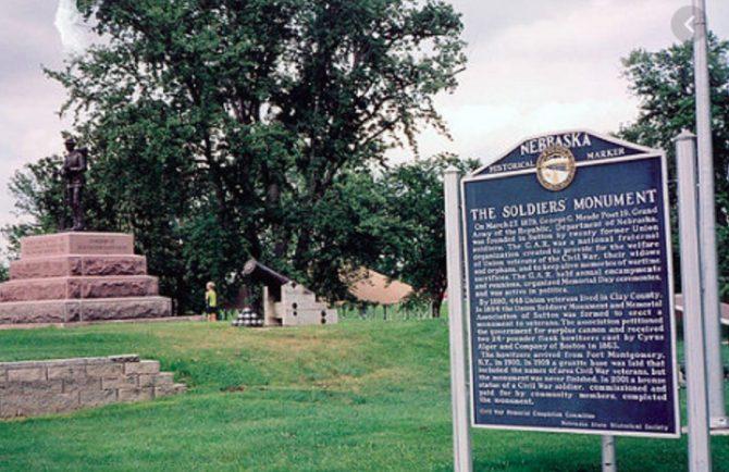 Nebraska Soldiers Monument (Nebraska,gov photo)