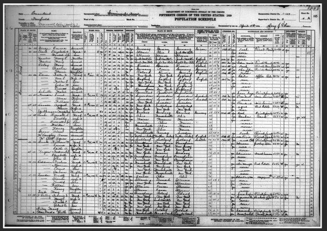 1930 Population Schedule (NARA.gov photo)