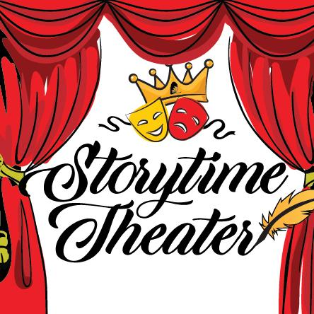 Christmas Carol logo for Storytime Theater