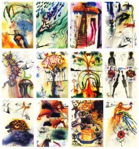 Salvador Dali illustrations