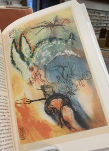 Salvador Dali illustration