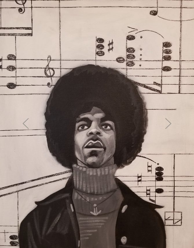 drawing of prince