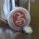25 year & 50 year anniversary pins