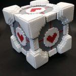 Companion Cube by Sebastian P
