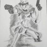 Star Wars Storm Trooper drawing