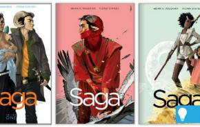 saga graphic novels cover