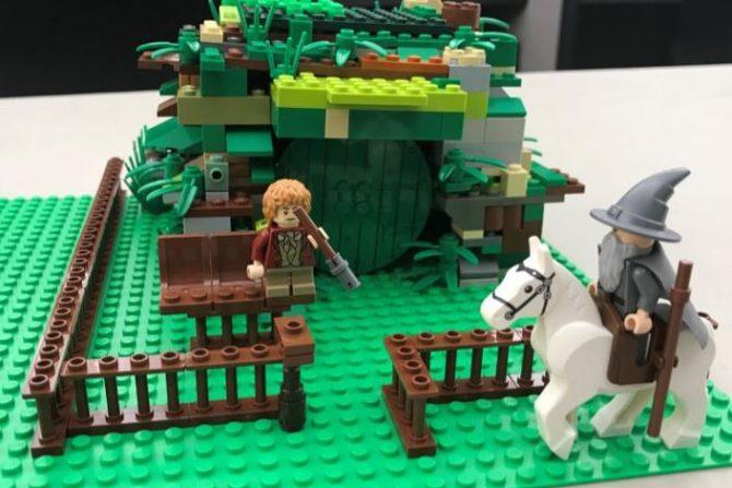 Hanna T., age 12,  Smoky Hill Library,  The Hobbit