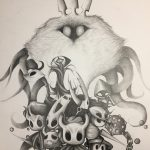 Hollow Knight pencil art