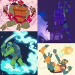 Rise of the Teenage Mutant Ninja Turtles digital artwork