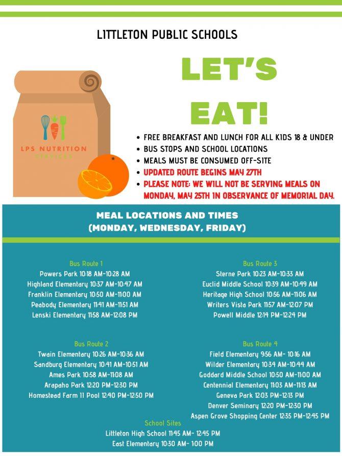 Littleton Public Schools Let's Eat!