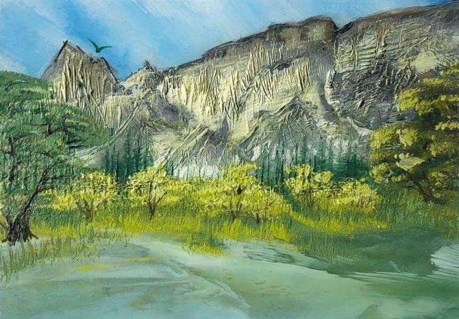 "Ala Park, ""The Beauty of the Yosemite"""