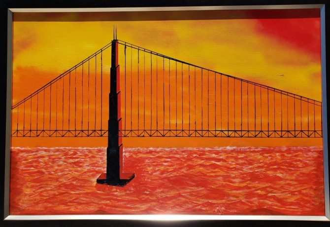 "Ram Polepeddi, ""Sunset Bridge 2"""