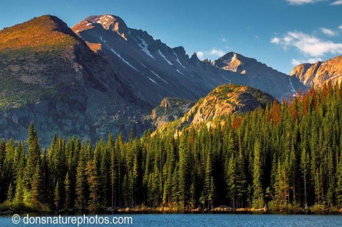 """Don Lewis, """"Bear Lake"""", Various Medium"""