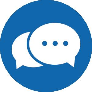 chat_blue circle