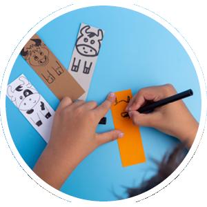 Circle bookmark contest image