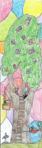 Jeshlin age 8, 1st place for Koelbel Library