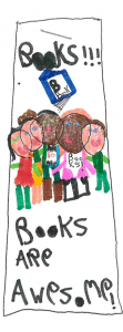 Mira age 6, 1st place for May Library