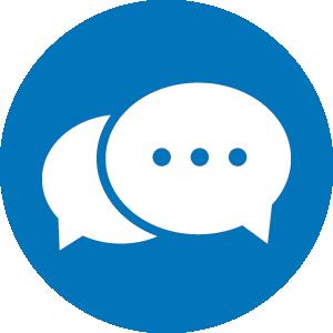 chat_new-blue circle