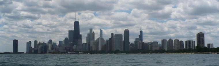 photo of the Chicago Skyline