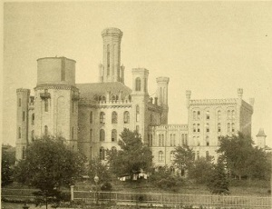 Picture of building with many towers