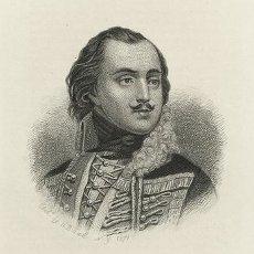 Engraving of Casimir Pulaski