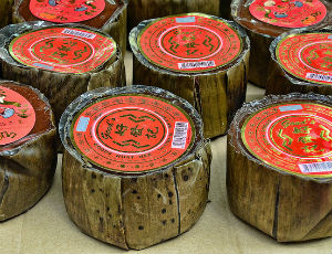 Chinese New Year sticky rice cakes