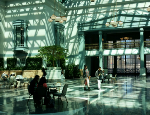 Your New Favorite Study Space: Winter Garden At Harold Washington Library  Center