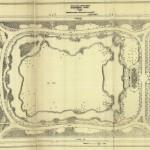 Landscape architectural plan of Sherman Park, South Park Commissioners, 1904. Source: Chicago Park District Records, Item 1603.
