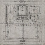 Landscape architectural plan of Park No. 14, 45th and Hermitage, Olmsted Brothers, Daniel Burnham & Co. Architects, 1904 September 12. Source: Chicago Park District Records, Item 688.