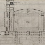 Architectural drawing of Sherman Park Fieldhouse, South Park Commissioners, 1914. Source: Chicago Park District Records, Item 1585.