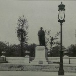 Photograph of Statue of William McKinley, McKinley Park, circa 1911. Source: Chicago City-Wide Collection, Box 99, Folder 16