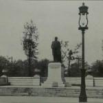 Photograph of Statue of William McKinley, McKinley Park, circa 1911. Source: Chicago City-Wide Collection, Box 99, Folder 16