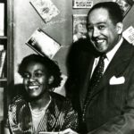Gwendolyn Brooks and Langston Hughes, 1949
