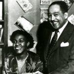 Gwendolyn Brooks and Langston Hughes, 1949