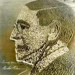 Yours Truly, Woodrow Wilson, 21,000 people, Camp Sherman, Chillicothe, Ohio, 1918. Source: Special Collections, World War I Collection, 2008.37.1
