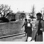 Wyatt leaving White House, 1978