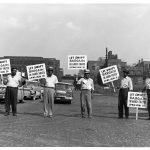 SWIFT picket line, 1948