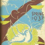 "Magazine cover reads ""Illinois Conservation, Spring 1937, state of Illinois"""