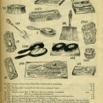 Toilet sets sold by Siegel Cooper & Co., through its 1900 catalog. Source: Trade Catalog Collection, Special Collections