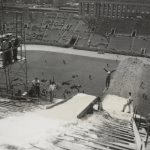 Ski Jump, Soldier's Field, circa 1957. Source: Chicago Park District Records: Photographs, Special Collections, Image 009_002_003