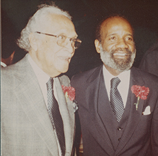 Bennett with Earl B. Dickerson