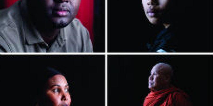 4 Portraits by James Bowey