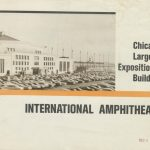 DNC location, International Amphitheatre, 4220 S. Halsted. Source: Special Collections, Chicago City-Wide Collection, Box 88, Folder 34.