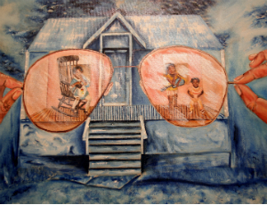 Painting by Anitra Frazier