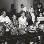 Pumpkin Decorating, Mount Greenwood Park, 1971. Source: Special Collections, Chicago Park District Records: Photographs, Photo 082_030_017.