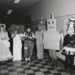 Halloween, Robinson Park, 1960. Source: Special Collections, Chicago Park District Records: Photographs, Photo 095_004_001.