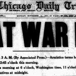 Headline: Great War Ends