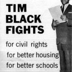 Timuel Black Jr. aldermanic poster